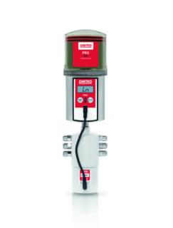 Batteridriven flerpunktssmörjning för upp till totalt 6 utlopp. Speciellt framtagen för linjärstyrningar. Individuell pausinställning utav varje utlopp.